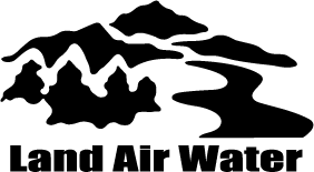 Land Air Water Logo